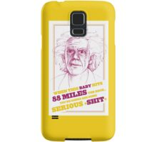 BACK TO THE FUTURE- DOC BROWN Samsung Galaxy Case/Skin
