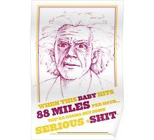 BACK TO THE FUTURE- DOC BROWN Poster