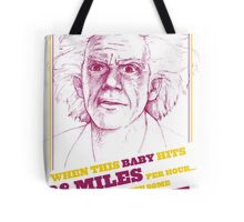 BACK TO THE FUTURE- DOC BROWN Tote Bag