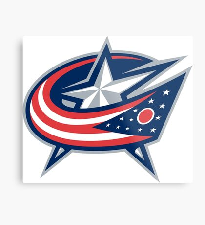 columbus blue jackets Metal Print