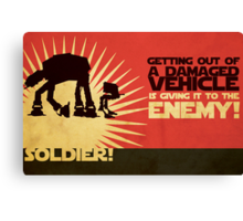 SOLDIER! Canvas Print