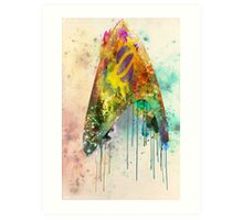 Star Trek Science Ensignia Art Print