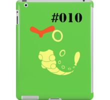 010 Caterpie iPad Case/Skin