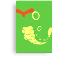 010 Caterpie Canvas Print