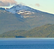 The Snow Capped Mountain and the Sea by PhoebeMcKay