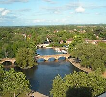 A View from the Royal Shakespeare Company's Tower by PhoebeMcKay