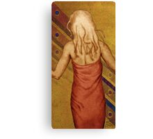 Little Red Dress Canvas Print