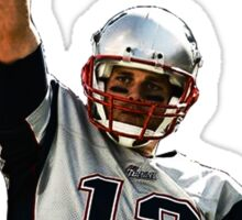 Tom Brady: Free At Last! Sticker