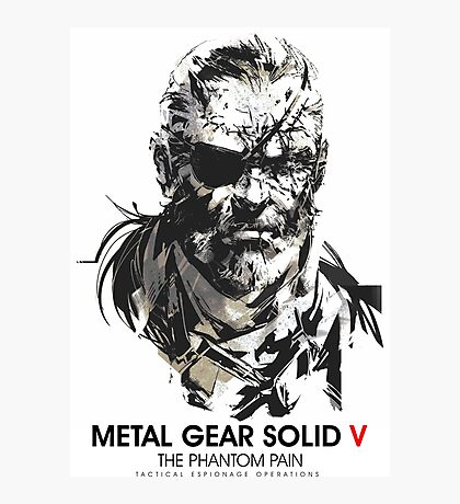 Metal gear Solid V Photographic Print