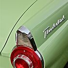 1956 Ford Thunderbird Taillight by Linda Bianic