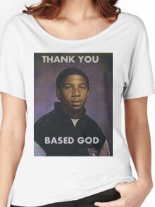 Based God Women's Relaxed Fit T-Shirt