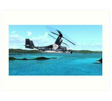U.S. Air force V-22 Osprey Art Print
