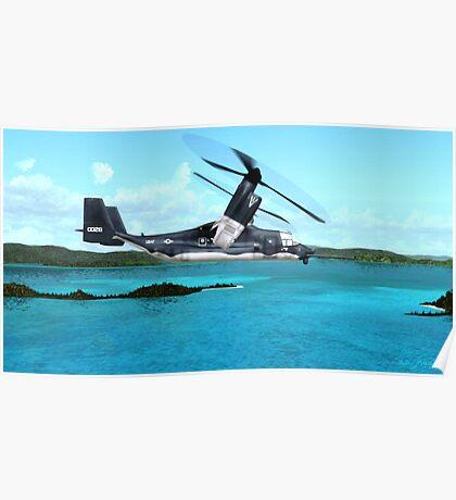 U.S. Air force V-22 Osprey Poster