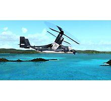 U.S. Air force V-22 Osprey Photographic Print