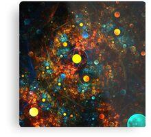 """""""Celestial Gumballs"""" (square) Metal Print"""