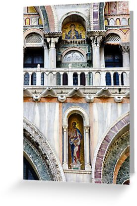 San Marco Detail by Harry Oldmeadow