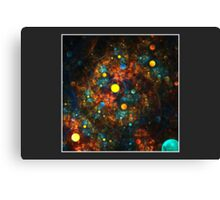 """Celestial Gumballs"" (6x4 card version) Canvas Print"