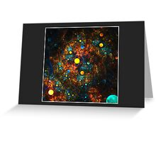 """Celestial Gumballs"" (6x4 card version) Greeting Card"