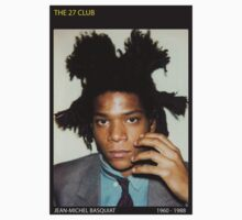 BASQUIAT-THE 27 CLUB by adam mazzarella