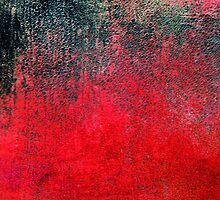 Abstract Lovely Red Black iPad Case Cool New Grunge Texture by Denis Marsili - DDTK