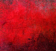 Abstract Red iPad Case Retro Cool New Grunge Texture Vintage by Denis Marsili - DDTK