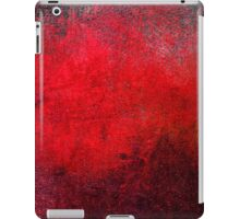 Abstract Red iPad Case Retro Cool New Grunge Texture Vintage iPad Case/Skin