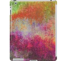 Abstract Colorful iPad Case Retro Cool New Grunge Texture Vintage iPad Case/Skin