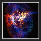 """When Space Met Time"" (6x4 card version) by Zero Dean"