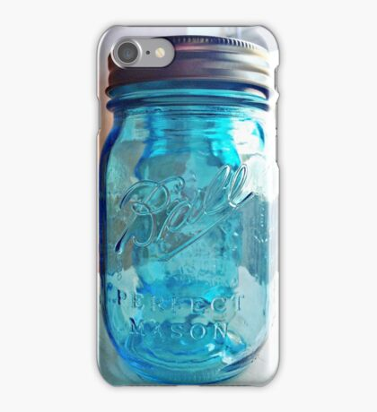 Blue Mason iPhone Case/Skin