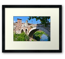 The Ancient Bridge Framed Print