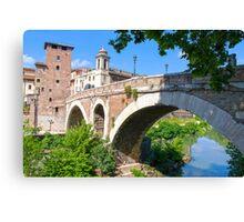 The Ancient Bridge Canvas Print