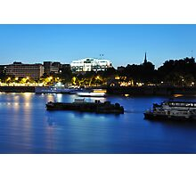 The River Bank Photographic Print