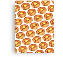 Pancake Pattern Canvas Print