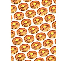 Pancakes Pattern Photographic Print