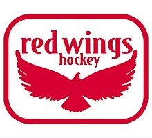 detroit red wings Photographic Print