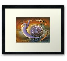 Escar_Goat Framed Print