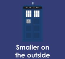 Tardis smaller on the outside by Jonathan Lynch