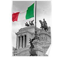 Flag Of Italia Poster