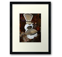 Old Scales Framed Print