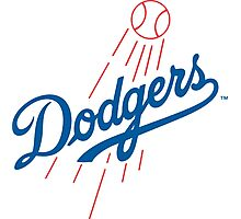 los angels dodgers Photographic Print