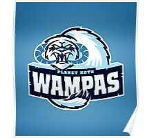 Planet Hoth Wampas Poster