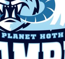 Planet Hoth Wampas Sticker