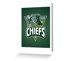 Forest Moon Chiefs Greeting Card