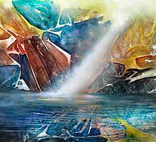 Falls in the Rock by Allison Ashton