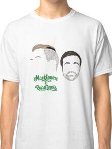 Macklemore & Ryan Lewis - Minimalistic Print Classic T-Shirt