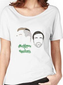 Macklemore & Ryan Lewis - Minimalistic Print Women's Relaxed Fit T-Shirt