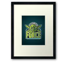 Dagobah Swamp Force Framed Print