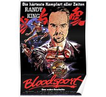 Bloodsport Starring Randy King Poster