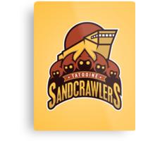 Tatooine SandCrawlers Metal Print