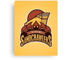 Tatooine SandCrawlers Canvas Print